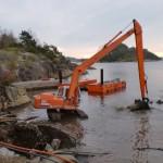 Lajordet - Bjønnes. Trykkavløpssystem for 80 hytter.