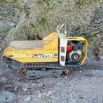 Winbull WB07 Minidumper. Dieseldrevet med tipp. Lastekapasitet 700 kg.