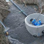 Ny vannkum ved Klovholtvegen.